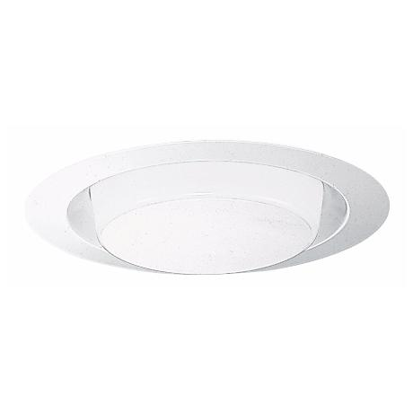 "Juno 6"" CFL Opal Lensed Shower Recessed Light Trim"