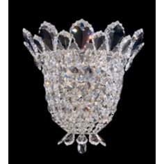 "Schonbek Trilliane Collection 10 1/2"" High Crystal Sconce"