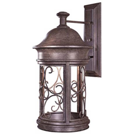 "Sage Ridge 22 1/4"" High Dark Sky Outdoor Wall Light"