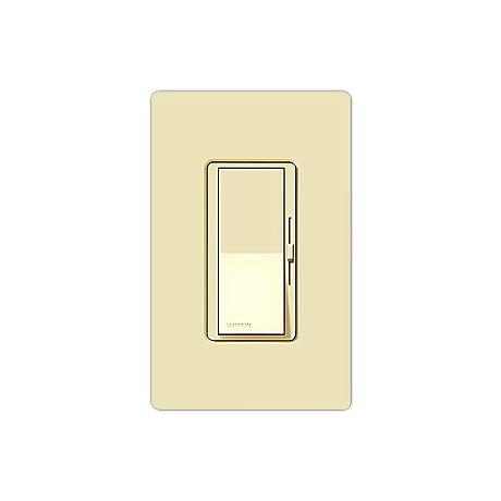Lutron Diva 600W Incandescent Single Pole Almond Dimmer