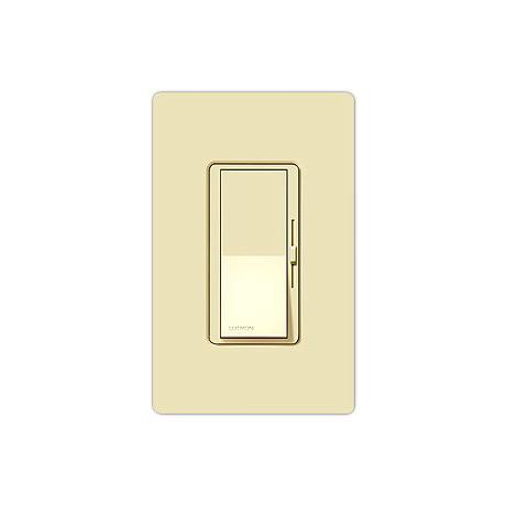 Lutron Almond Diva 600 Watt 3-Way Dimmer