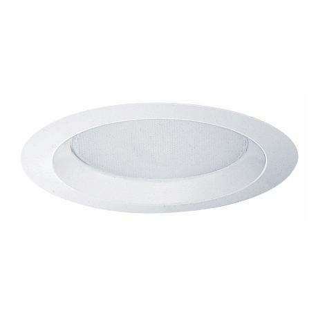 "Juno 6"" Albalite Lens Shower Recessed Light Trim"