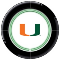 University of Miami Neon Sign