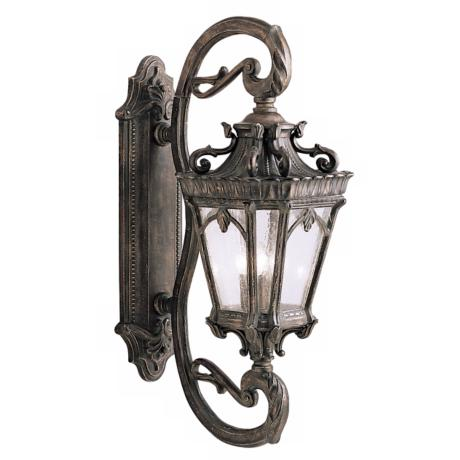 "Kichler Tournai Collection 38"" High Outdoor Wall Light"