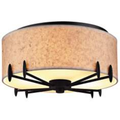 "Forecast Urban Oasis Collection 14 1/4"" Wide Ceiling Light"