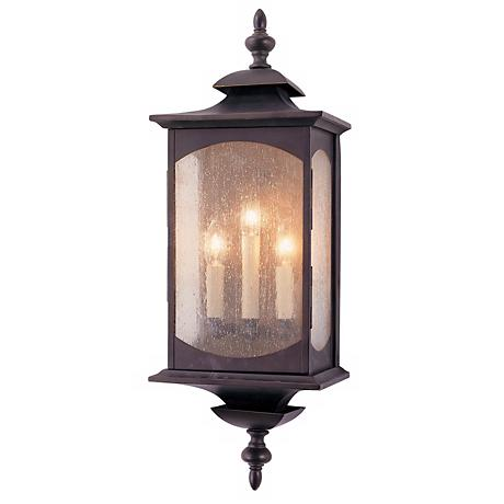 "Feiss Market Square 25"" High Outdoor Wall Light"