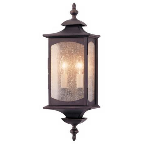 "Murray Feiss Market Square 19"" High Outdoor Wall Light"