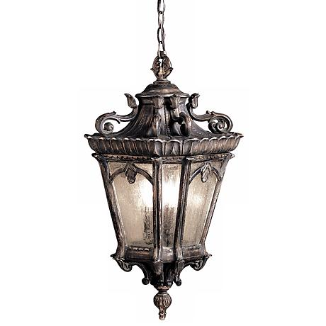 "Kichler Tournai Collection 25"" High Outdoor Hanging Light"