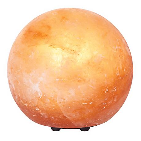 Himalayan Salt Crystal Globe Accent Lamp