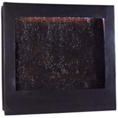 Contemporary Central Square Indoor - Outdoor Wall Fountain