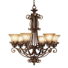 Kichler Six Light Cottage Grove Chandelier