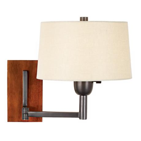 Robert Abbey Wonton Collection Bronze Plug-In Swing Arm