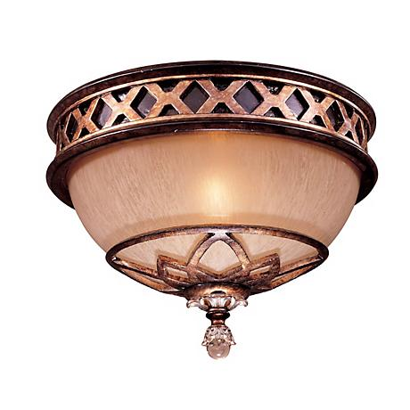 "Minka Aston Court Collection 11"" Wide Ceiling Light"