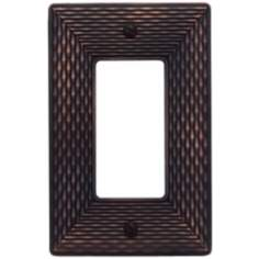 Mandalay Venetian Bronze Single Rocker Wall Plate