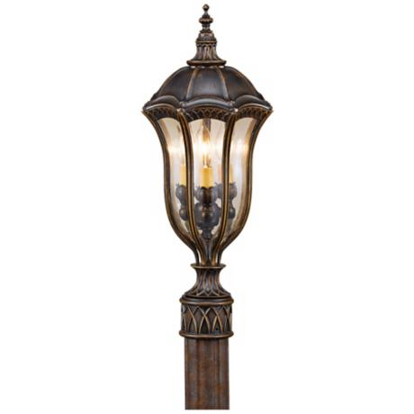 "Murray Feiss Baton Rouge 22"" High Outdoor Post Lantern"