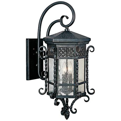 "Maxim Scottsdale 28"" High Country Forge Outdoor Wall Light"