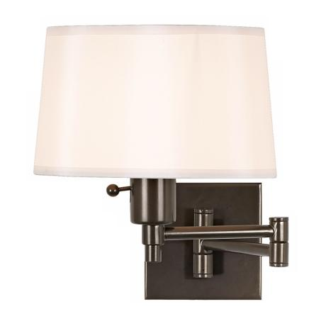 Real Simple Bronze Plug-In Swing Arm Wall Lamp