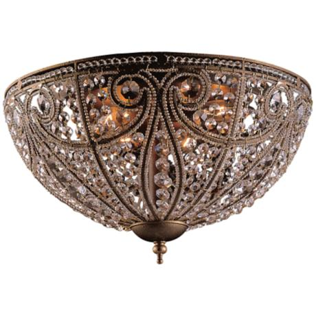 "Bethany Collection 17"" Wide Ceiling Light Fixture"