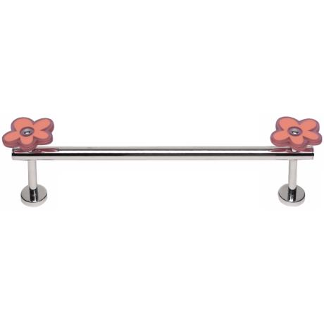 "Oops-A-Daisy Pink 14"" Wide Towel Holder"