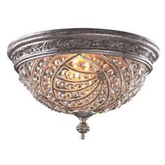 "Genoese Collection 16"" Wide Ceiling Light Fixture"