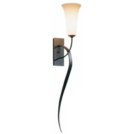 Hubbardton Forge Opal Glass Taper Wall Sconce