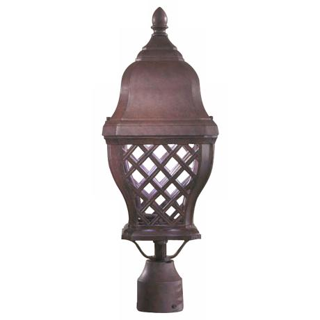 "British Isle 20 3/4"" High Bronze Outdoor Post Light"