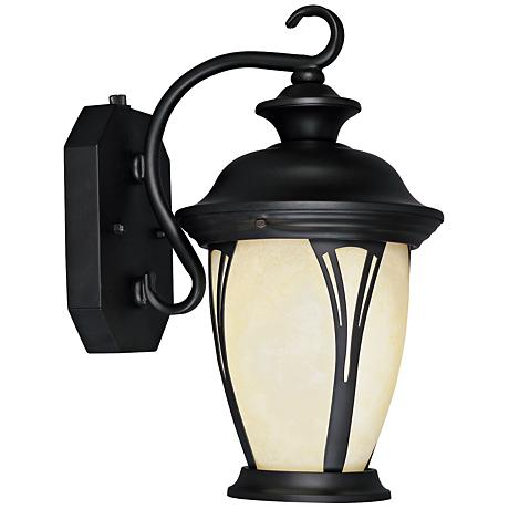 westchester 12 3 4 high dusk to dawn outdoor wall light 78756. Black Bedroom Furniture Sets. Home Design Ideas