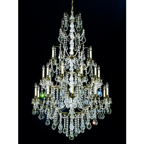 Schonbek Gallia Collection Triple Tier Chandelier
