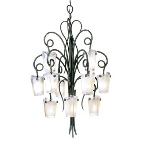 Riverside Drive Collection Twelve Light Chandelier