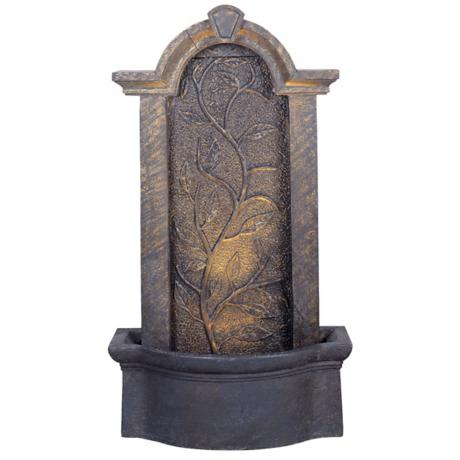 Meadow Outdoor Bronze Indoor - Outdoor Floor Fountain