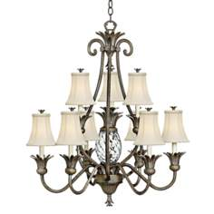 Hinkley Plantation Collection Two Tier Chandelier