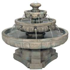 Henri Studios Large Regal Tier Fountain