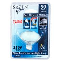50 Watt MR16 Soft Diffused Halogen Light Bulb