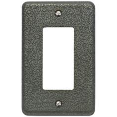 Olde World Pewter Single Rocker Wall Plate