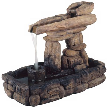 Henri Studios Stone Formation Fountain