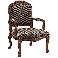 Edgehill Brown Accent Chair