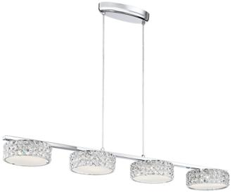 "Possini Euro Marcela 46 3/4"" Wide Crystal LED Island Pendant (7C578) 7C578"
