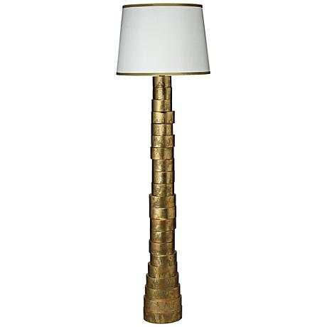 Jamie Young Gold Splash Stacked Floor Lamp