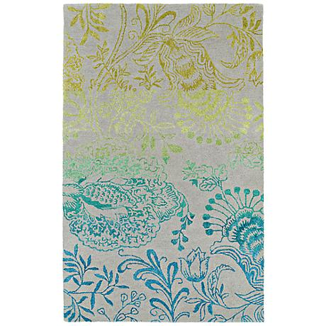 Kaleen Divine DIV02-101 Breeze Multi-Color Wool Area Rug