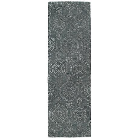 Kaleen Divine DIV07-102 Pewter Green Wool Area Rug