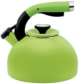 Circulon Kiwi Green 2-Quart Morning Bird Tea Kettle (7G868) 7G868