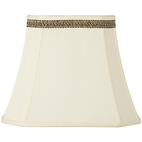 Rectangle Shade with Black and Gold Trim 10x16x13 (Spider)