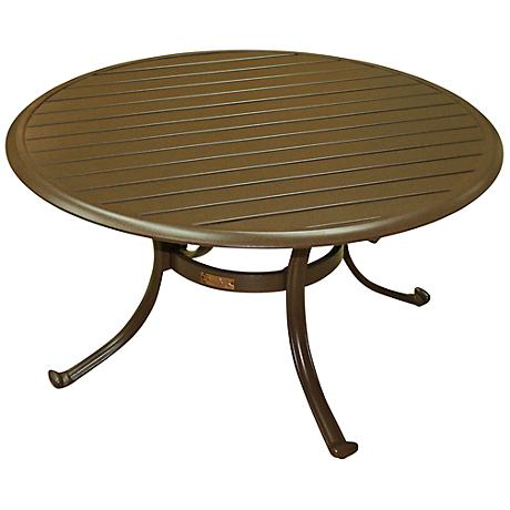 Panama Jack Island Breeze Round Patio Coffee Table 7k079