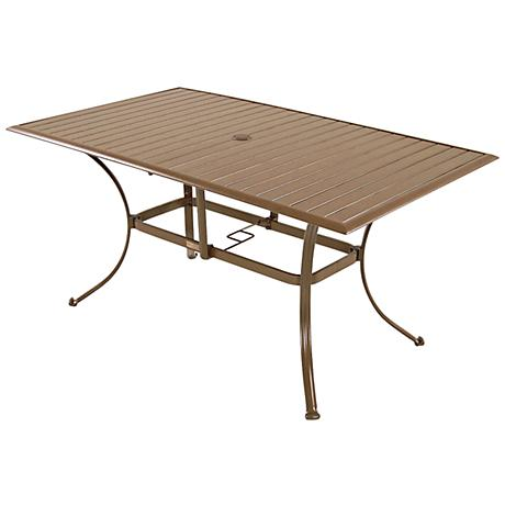 Panama Jack Island Breeze Rectangular Patio Dining Table