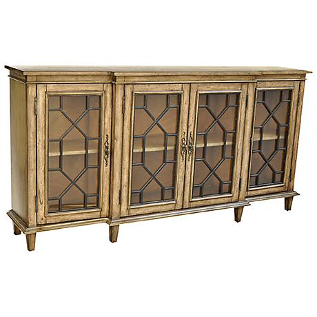 Crestview Berkshire Chippendale 4-Door Sideboard