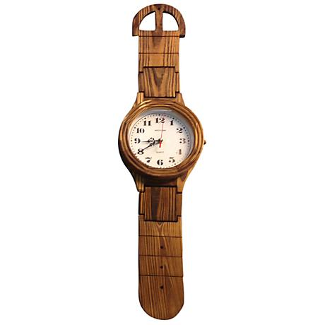"Giant Wrist Watch 31"" High Wall Clock"