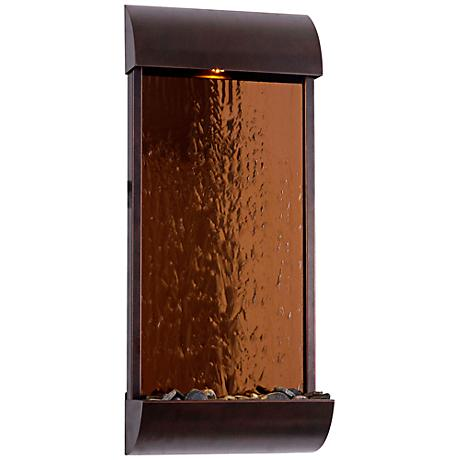 Kenroy Home Aspen Copper Mirror Wall Fountain
