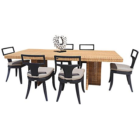Dann Foley Rodeo Rectangular 7-Piece Outdoor Dining Set