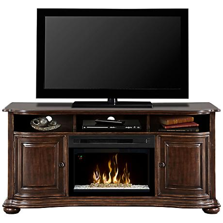 Henderson Cherry Media Console Fireplace