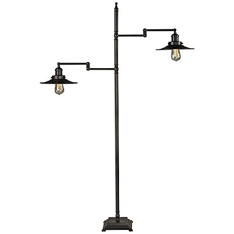 Dimond New Holland Oil-Rubbed Bronze Restoration Floor Lamp